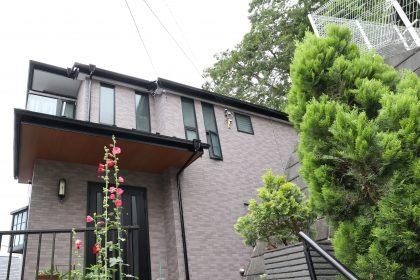 横浜市南区M様邸施工事例|屋根塗装 付帯部塗装 軒天張替え