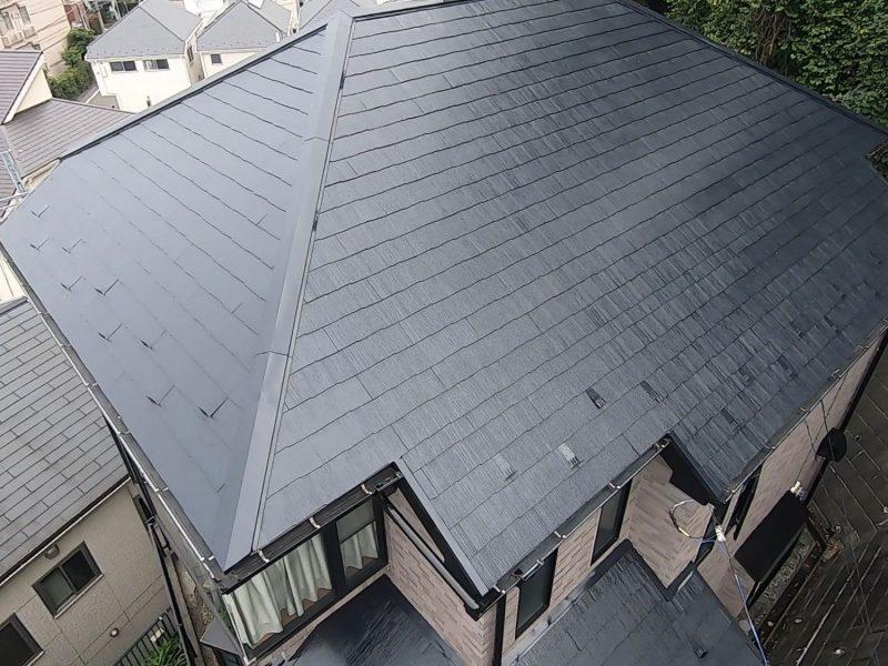 横浜市南区M様邸屋根塗装後
