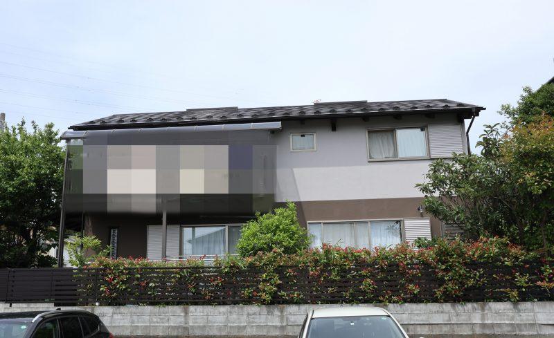 横浜市栄区S様邸インディフレッシュセラ塗替え後