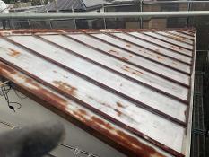 横浜市港南区N様邸屋根塗装施工前