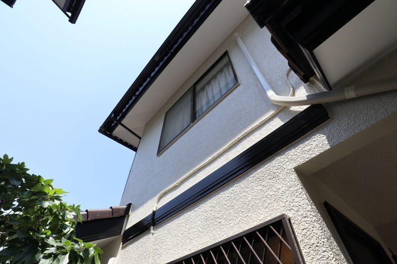 横浜市戸塚区F様邸外壁塗装施工後画像
