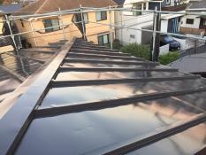 横浜市港南区N様邸屋根塗装施工後