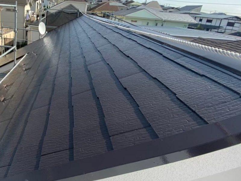 横浜市栄区K様邸屋根塗装後