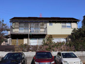 横浜市栄区S様邸施工前カラーシミュレーション2
