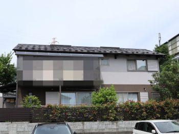 横浜市栄区S様邸施工事例|外壁塗装 屋根塗装 塀塗装 付帯部塗装