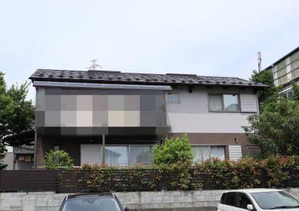 横浜市栄区S様邸施工事例|インディフレッシュセラ外壁塗装