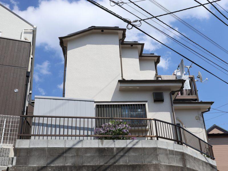 横浜市港南区I様邸外壁塗装施工後画像