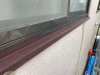 横浜市港南区I様邸水切り塗装前