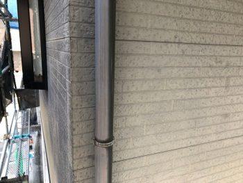 横浜市南区Y様邸雨樋塗装前