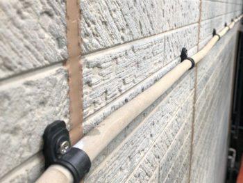 横浜市南区Y様邸外壁塗装前バンド交換作業