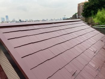 横浜市南区Y様邸屋根塗装完了