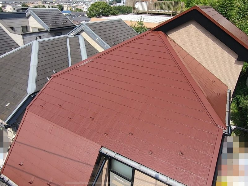 横浜市南区Y様邸屋根塗装後