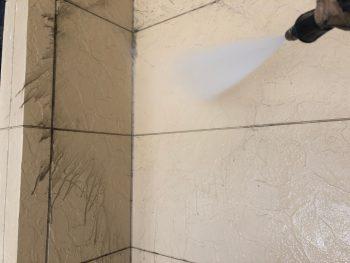 横浜市西区K様邸外壁高圧洗浄