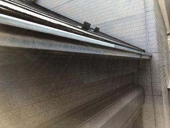 横浜市南区Y様邸軒樋塗装前