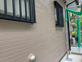 横浜市南区Y様邸外壁塗装施工完了