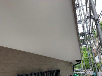 横浜市南区Y様邸軒天塗装施工後画像