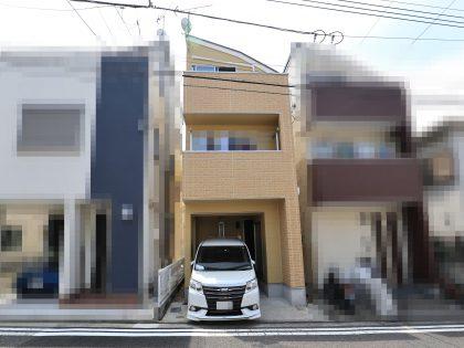 横浜市西区 K 様邸施工事例|ダイヤモンドコート外壁塗装
