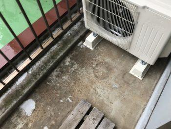 横浜市南区M様邸ベランダ防水前