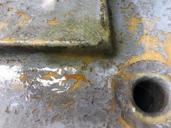 横浜市南区Y様邸FRP防水保護塗装前下地補修