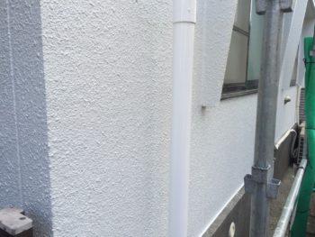 横浜市南区M様邸雨樋塗装施工後