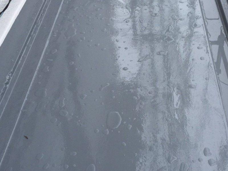 横浜市南区M様邸FRP防水保護塗装施工後