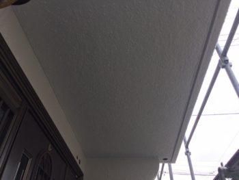 横浜市南区M様邸軒天塗装施工後