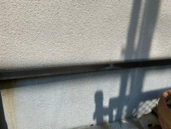 横浜市港南区T様邸水切り塗装施工前