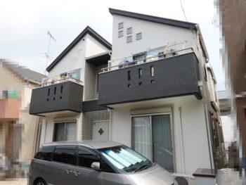 横浜市港南区 T 様邸施工事例|外壁・屋根・付帯部・FRP防水