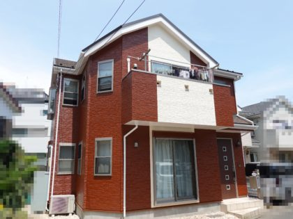 横浜市磯子区 Y 様邸施工事例|ダイヤモンドコート外壁塗装