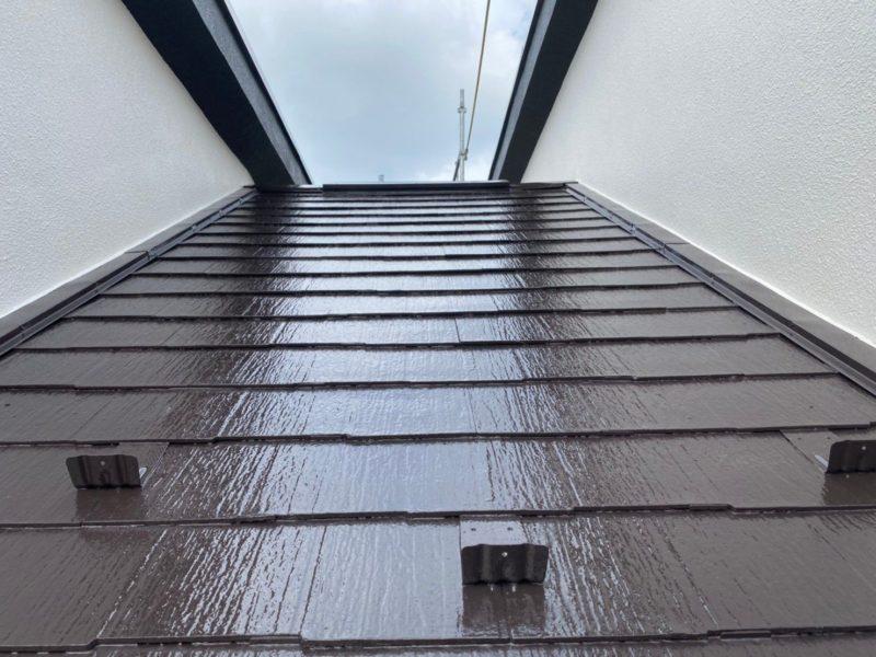 横浜市港南区T様邸屋根塗り替え施工後