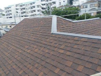 横浜市磯子区Y様邸屋根シングル増し葺き施工後