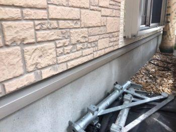 横浜市磯子区Y様邸水切り塗装工事前