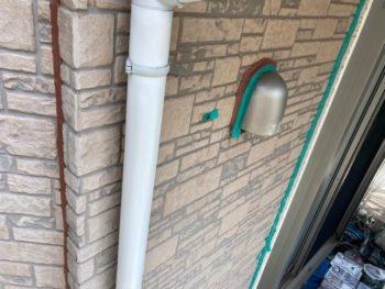 横浜市磯子区Y様邸雨樋塗装工事前