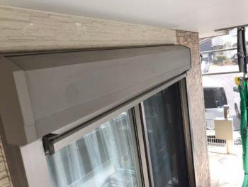 横浜市磯子区Y様邸シャッターボックス塗り替え前画像