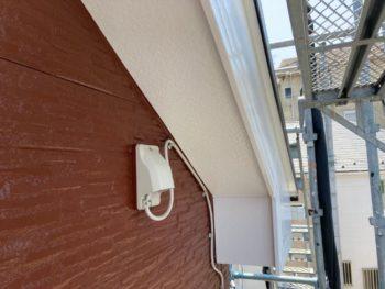 横浜市磯子区Y様邸軒天塗装工事完了