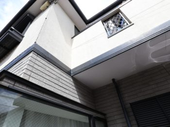 横浜市金沢区S様邸外壁塗装工事前