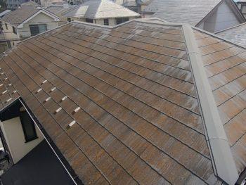 横浜市金沢区S様邸屋根塗装工事前