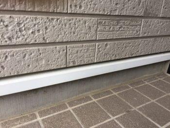 横浜市金沢区S様邸水切り塗装前画像