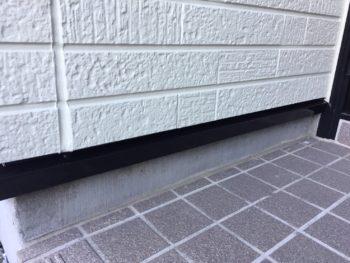 横浜市金沢区S様邸水切り塗装施工後画像