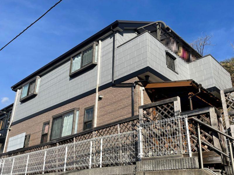 横浜市栄区E様邸外壁塗装後画像