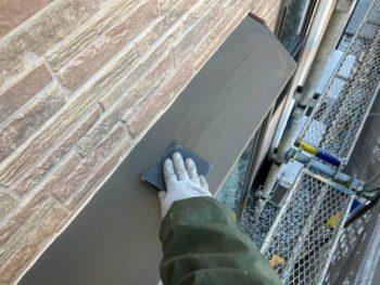 横浜市栄区E様邸付帯部塗り替え工事施工事例画像