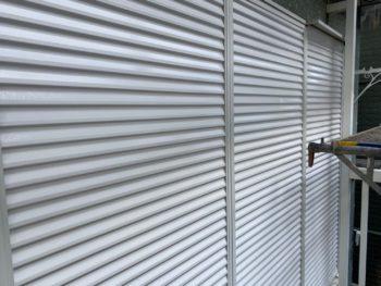 横浜市神奈川区S様邸雨戸塗替え施工後画像