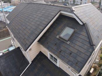 横浜市栄区O様邸屋根塗装前画像