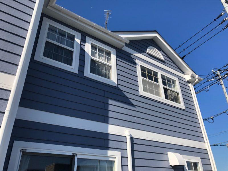 横浜市栄区O様邸パーフェクトトップ外壁塗装後画像