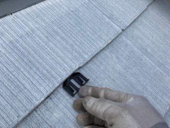 横浜市栄区T様邸サーモアイ4F屋根塗装塗り替え工事中