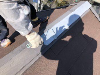横浜市神奈川区H様邸屋根塗装施工画像