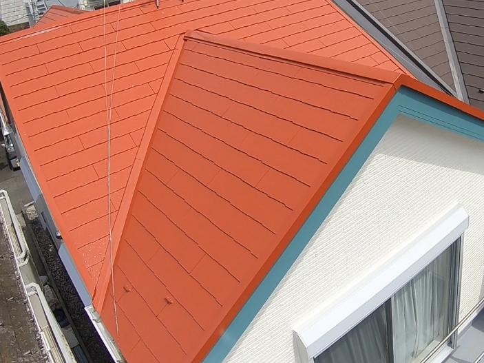 横浜市神奈川区H様邸サーモアイSi屋根塗装施工後画像