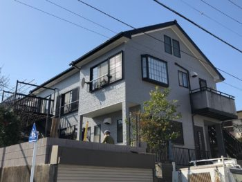 横浜市栄区 T 様邸 ダイヤモンドコート外壁塗装
