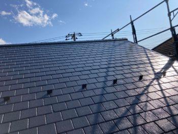横浜市栄区T様邸サーモアイ4F屋根塗装塗り替え工事完了