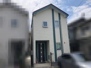 横浜市神奈川区 H 様邸 パーフェクトトップ外壁塗装